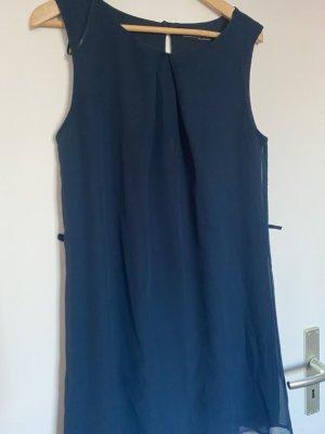 Primark Chiffon Dress dark blue