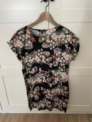 Sommerliches Minikleid mit Blumenprint
