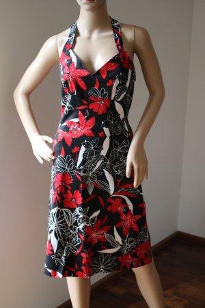 Zara Woman Halter Dress multicolored