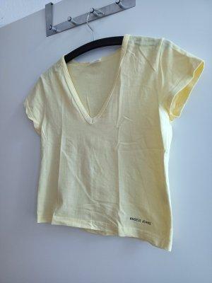 Angels T-shirt col en V jaune