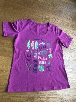 Sommerliches T Shirt Größe 40 in pink