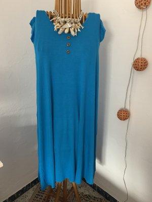 Sommermädchen: Jerseykleid in Blau
