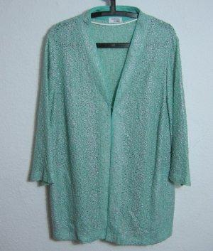 SOMMERMANN Festlicher Cardigan Größe 50 Helles Grün Bluse Blazer