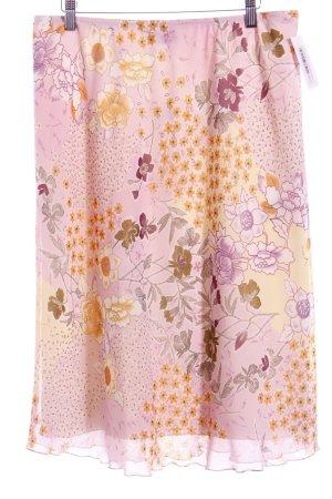 Sommermann Midirock florales Muster Casual-Look