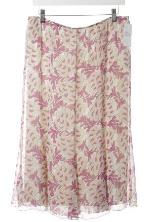 Sommermann Midirock florales Muster Elegant