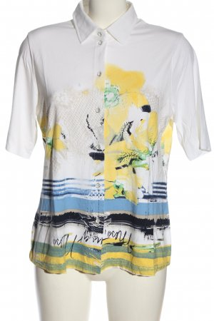 Sommermann Polo Shirt allover print casual look