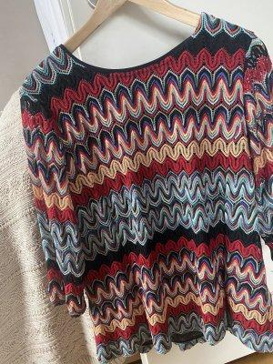 Sommermann Crochet Shirt multicolored