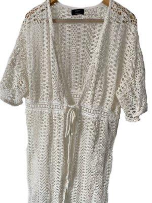 C&A Yessica Płaszcz oversize w kolorze białej wełny