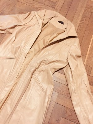 Sommermantel Übergangsmantel beige caramel cognac Gr. 38 H&M Zara