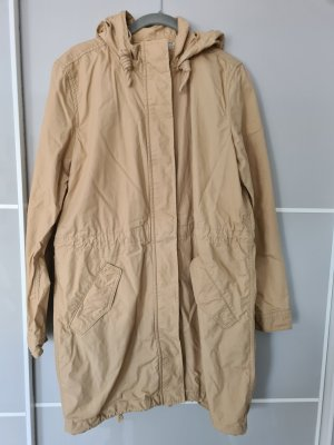Levi Strauss & Co Cappotto con cappuccio beige chiaro
