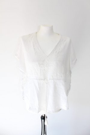 Zara Camicia a tunica bianco