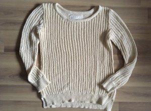 H&M Pullover a maglia grossa beige chiaro