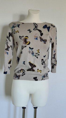BC Collection Kraagloze sweater veelkleurig Viscose