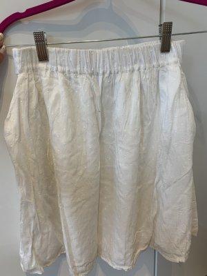 Pieces Balloon Skirt white