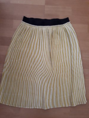 United Colors of Benetton Pleated Skirt multicolored mixture fibre