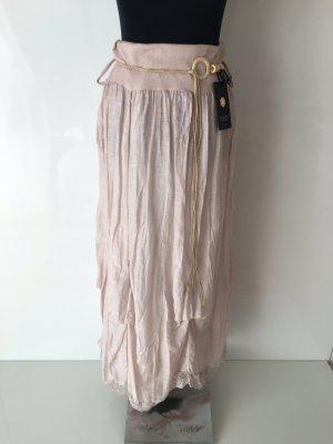 Italian Fashion Jupe superposée rosé-blanc