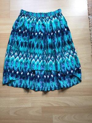 H&M Asymetryczna spódniczka Wielokolorowy