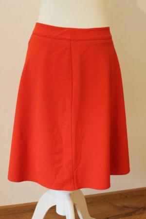 Kiomi Spódnica z falbanami czerwony Poliester