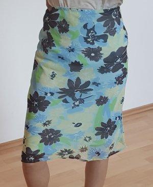 Falda de tul verde claro