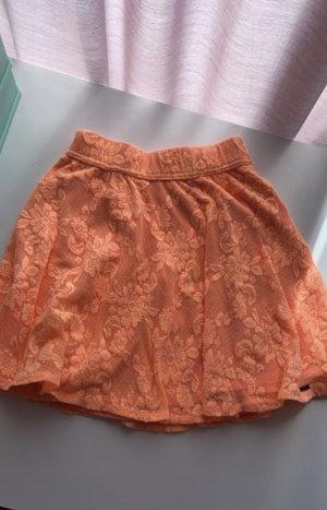 Hollister Skater Skirt orange-apricot