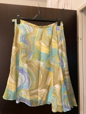 Caractère Asymmetry Skirt multicolored