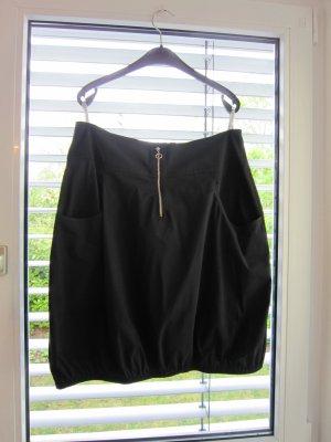 MS Moda Falda globo negro Algodón
