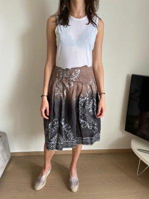 Maliparmi Silk Skirt multicolored
