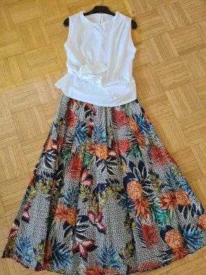 aus Italien Circle Skirt multicolored