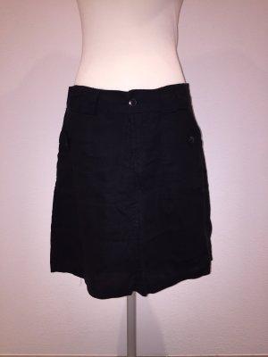 Vero Moda Falda de lino negro