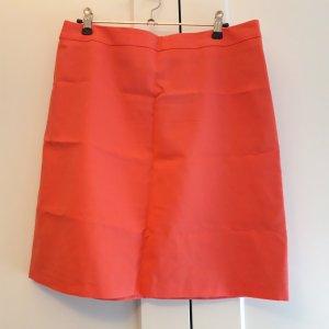 1.2.3. UN DEUX TROIS Paris Miniskirt salmon-bright red