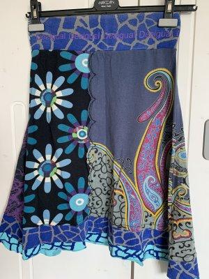 Desigual Jupe mi-longue multicolore