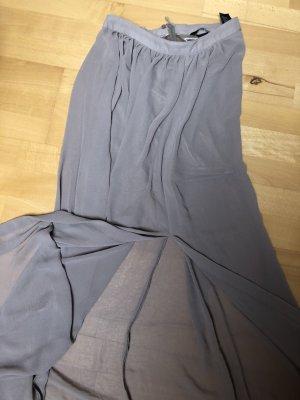 H&M Falda larga gris