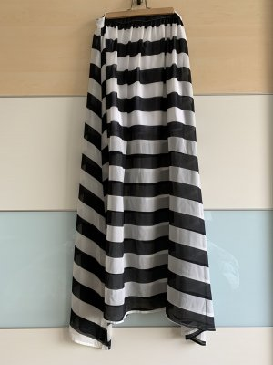 Volcom Jupe longue blanc-noir