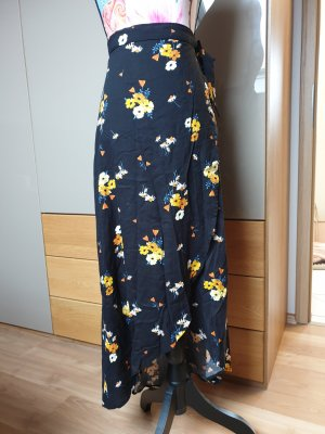 H&M Wraparound Skirt multicolored
