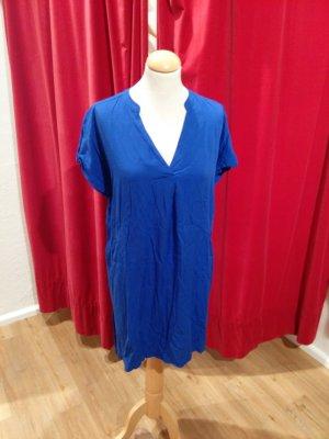 Sommersale :-) Armedangels - Kleid in kornblumenblau, Gr. XL (passt 38-42) - wie neu!