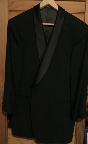 Tailcoat Suit black wool