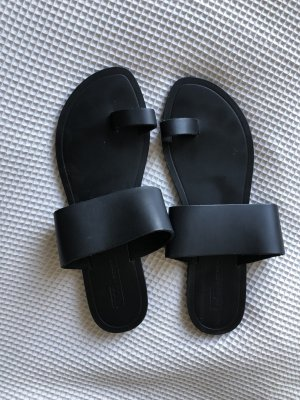 Asos Sandalo toe-post nero