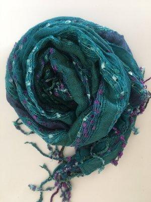 Unbekannte Marke Écharpe d'été bleu cadet-lilas