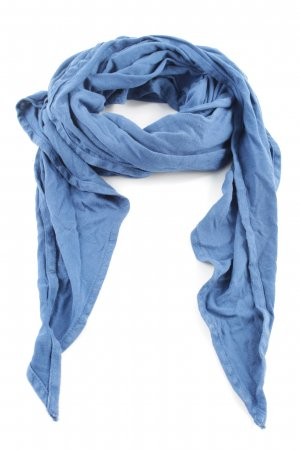 Summer Scarf blue casual look