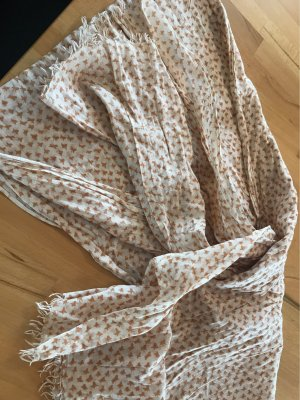 Noa Noa Summer Scarf cream-dark orange