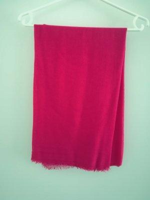 Sommerschal pink von Hallhuber