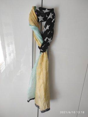 Plomo o plata Silk Scarf multicolored silk