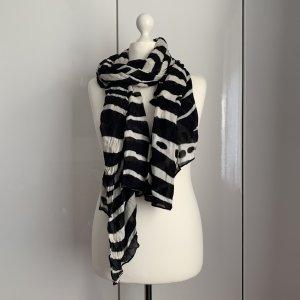 Zara Summer Scarf black-white