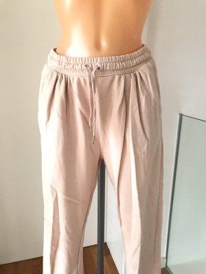 H&M Spodnie dresowe Wielokolorowy Tkanina z mieszanych włókien