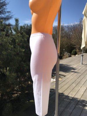 Pantalon de sport blanc coton