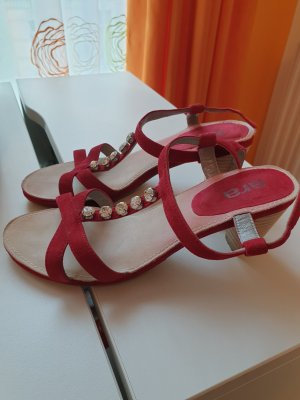 ara Sandaletto con tacco alto rosso scuro
