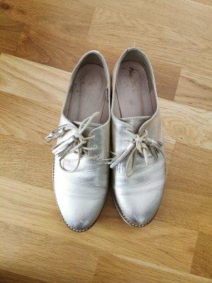 Zign Chaussures à lacets doré