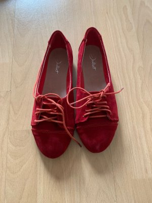 Sommerschuhe in rot