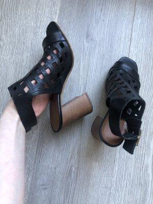 Carvela Strapped Sandals brown-black