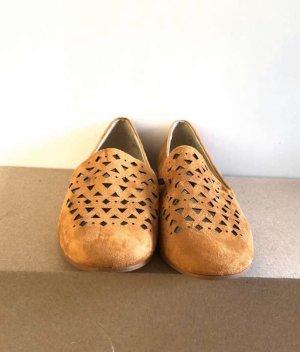 Zara Outdoor Sandals dark orange